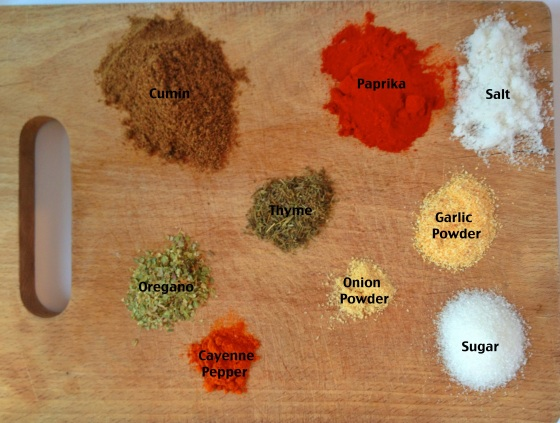 Chili Seasonings Graphic | Frame of Reference